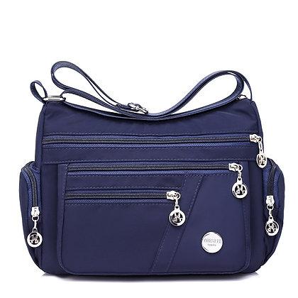 Hobos Shoulder Zipper Bag Lightweight & Waterproof Nylon Oxford Travel Bag