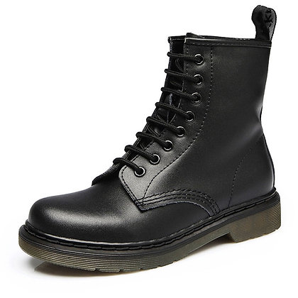 2020 Genuine Leather Boots /Casual Botas Mujer Female Ankle Boots
