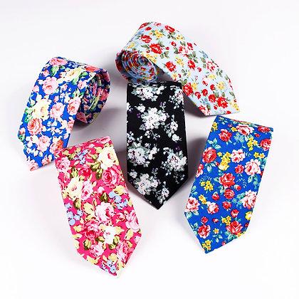 Linbaiway 6.5cm Tie for Men /  Women Skinny Neck Tie for Wedding Casual Ties