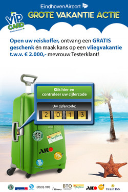 EHV AIRPORT - Direct mail (online)