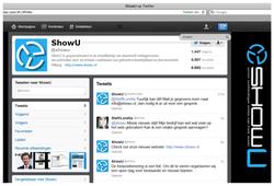 ShowU - (vb) Twitter