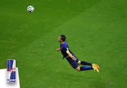 RED BULL - Persie kopgoal WK2014