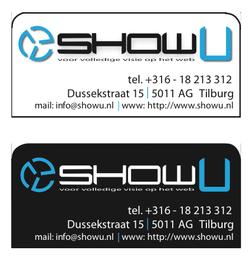 ShowU - Adresstickers