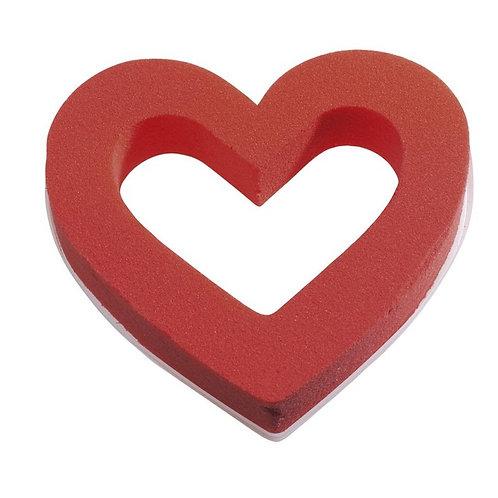 Coeur ouvert OASIS® RAINBOW FOAM® 18cm    X 2PCS