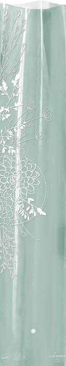 100 Etuis - Obelia 16x80 cm 40µ SAUGE