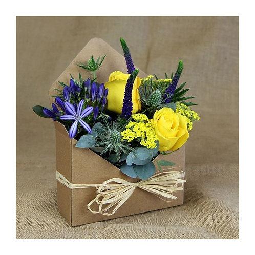 Enveloppes Flowers boxes - les 10 pièces kraft