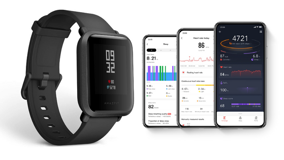 AmazFit - wearable technology (ongoing)