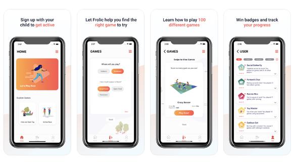 Released Activity App - Frolic