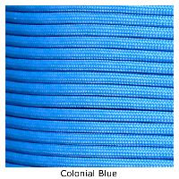 Colonial Blue 550 commercial Paracord