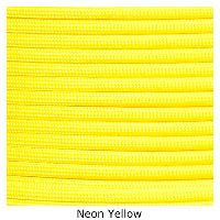 Neon Yellow 550 commercial Paracord