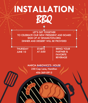 Sign up for Installation BBQ