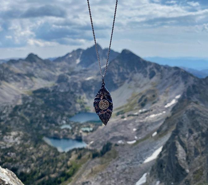 Spanish peaks w leaf.JPG
