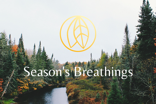 Season's Breathings - Fall 2020