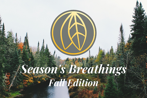 Season's Breathings - Fall 2020