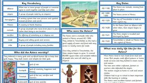 Y5/6 Theme blog: Amazing Aztecs