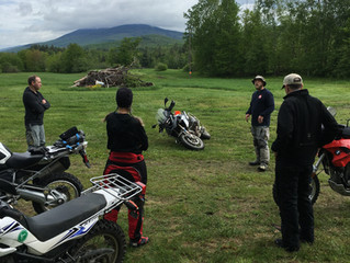 The First Ever: Bush Moto Tour -  Rider training and wilderness survival