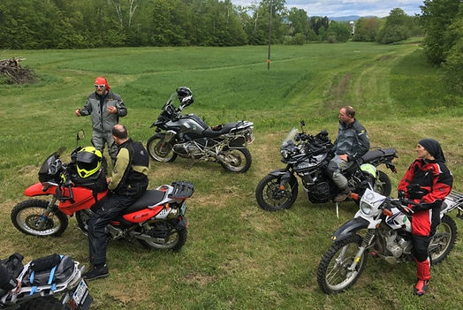 Motorcycl trainig group