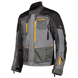 carlsbad jacket Asphalt - Strike Orange_