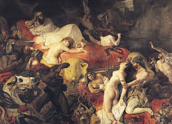 Digressions pyromanes autour de Delacroix et Baudelaire