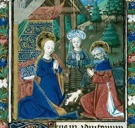 L'or de la nuit dans quelques miniatures françaises du XVe siècle