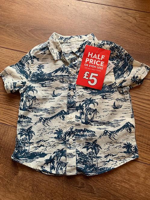 Next NEW 6-9mnths Summer Shirt