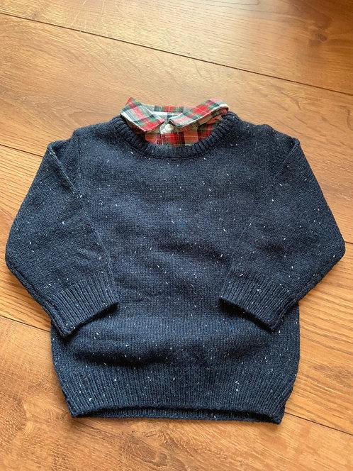 Next NEW 6-9mnths Formal Sweatshirt