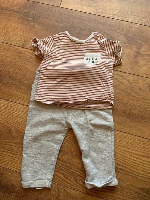 TU 6-9mnth Wild One Outfit