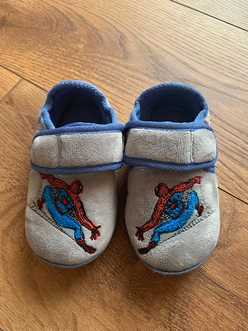 M&S Size 6 Spider-Man Slippers