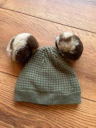 George 3-6mnth Bobble Hat
