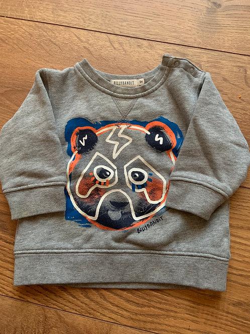 Billy Bandit 6-9mnths Sweatshirt