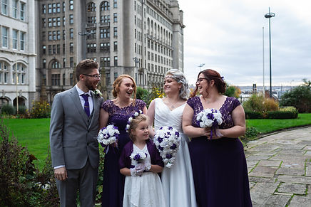 Liverpool wedding, liver building