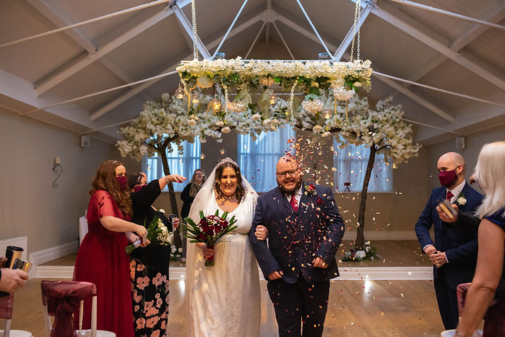 leasowe castle wedding, winter wedding, christmas wedding