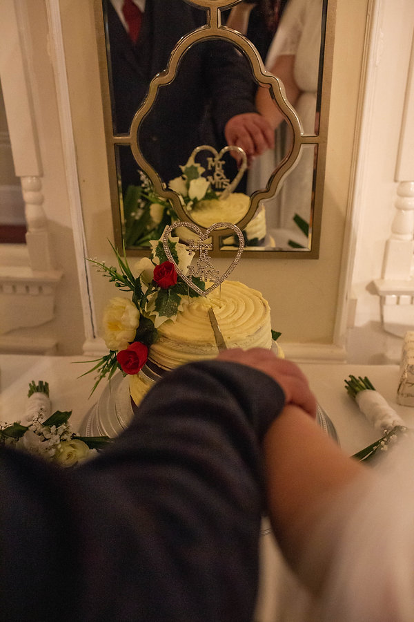 winter wedding, christmas wedding, leasowe castle,