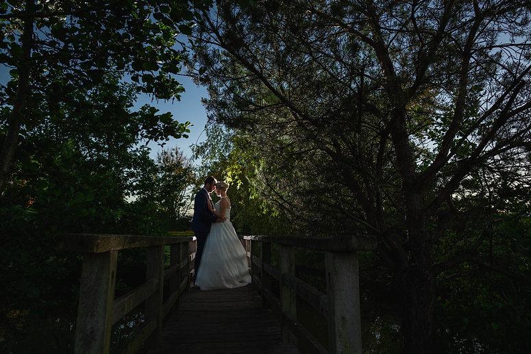 charnock farm wedding, night time shot