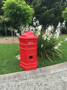 Pillar Letter Box $990 Delivered