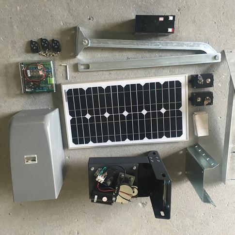 Solar Gate Operator Single $2000 Double $2250