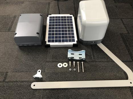 Solar Powered Gate Operator