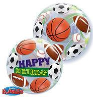 2. Bubbles Ballon €9,90 inkl. Helium (22