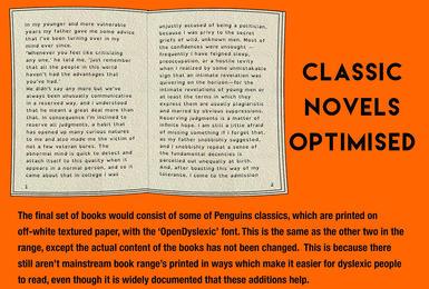 Classic novels optimised