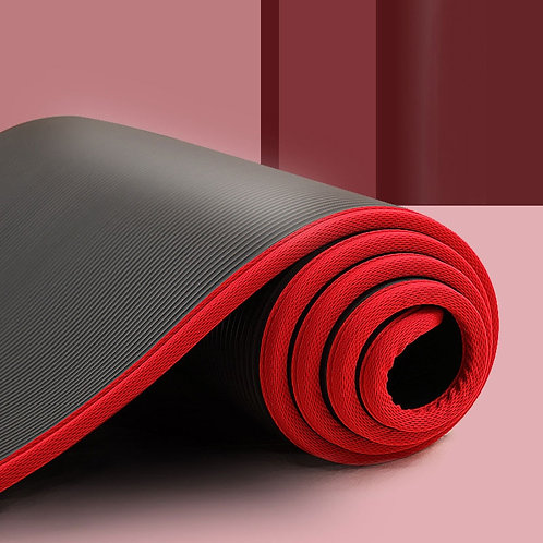 New 10mm Extra Thick Non-Slip Yoga Mat With Carrying Strap