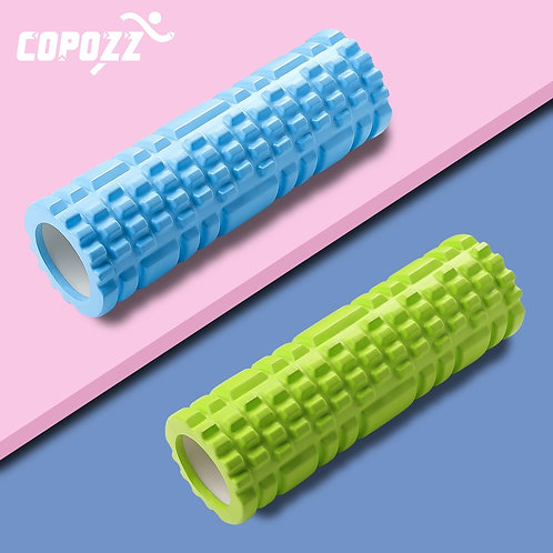Sport Fitness Foam Roller, Rigid Center, Textured Foam - Relieve Muscle Pain