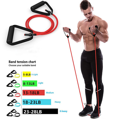 Resistance Bands With Handles, 5 Resistance Levels, Perfect For Any Workout
