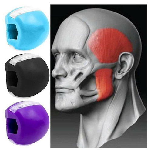 Jaw Line Exercise Ball, Made From Food Grade Silica Gel - Give Life To Your Face