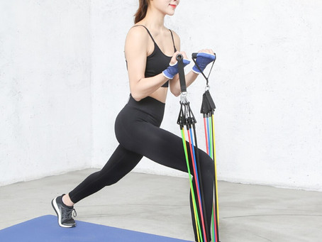 Resistance Bands Add New Levels Of Fitness