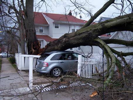 СТАВРОПОЛЬ.Накрыло ураганом и градом.