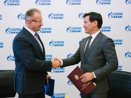"Элиста. Б.Хасиков.""Газпром"" обещал инвестиции."