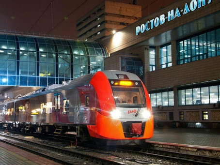 Пятигорск.Кавминводы туристов завозит поездом.