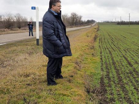 Ставрополь.Путина фермеры просят спасти землю края.