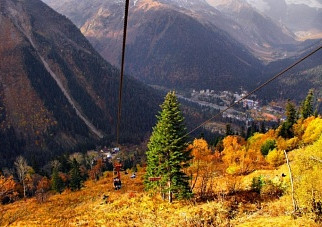 Черкесск.КЧР.1,5 млн россиян уехали в горы.