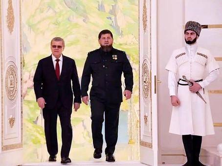 Грозный.Кадыров вступил в должность в День рождения.